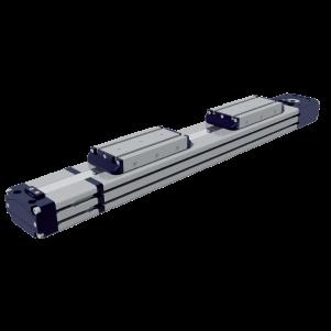 Double Carriage Rectangular Profile – EDF Series
